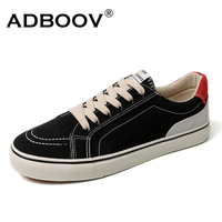 ADBOOV Low Top Casual Sneakers Men Classic Skateboarding Shoes Fashion Man Canvas Shoes Flats Tenis Masculino