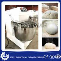100L comercial de alta resistencia CE certificado preparación de alimentos panadería amasadora de comida planetaria