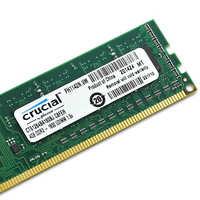 Mémoire RAM cruciale DDR 3 DDR3 4GB 8 GB 1600MHz 1333MHZ 8 GB DIMM 240-pin DDR3 PC3-10600U PC3-12800U DIMM bureau