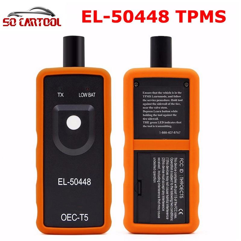 EL-50448 TPMS EL 50448 Auto Pression des Pneus Moniteur Capteur EL50448 OEC-T5 Automobile TPMS Activation Outil Pour SPX G. M