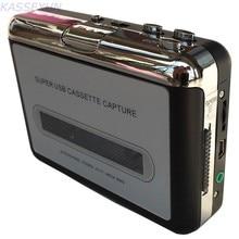 Tarjeta de captura de cassette, walkman cassette player, convertir cassette de cinta a MP3 a través de PC envío gratis