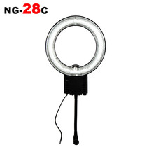 hot deal buy pro ng-28c dslr camera photo ring light 267mm outer 184mm inner 28w 5400k photography equipment studio flash lamp fluorescent