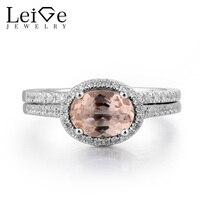 Украшения leige Помолвочные, из марганита кольцо натуральный с розовым морганитом серебряное кольцо из розового золота с изящным кристаллом