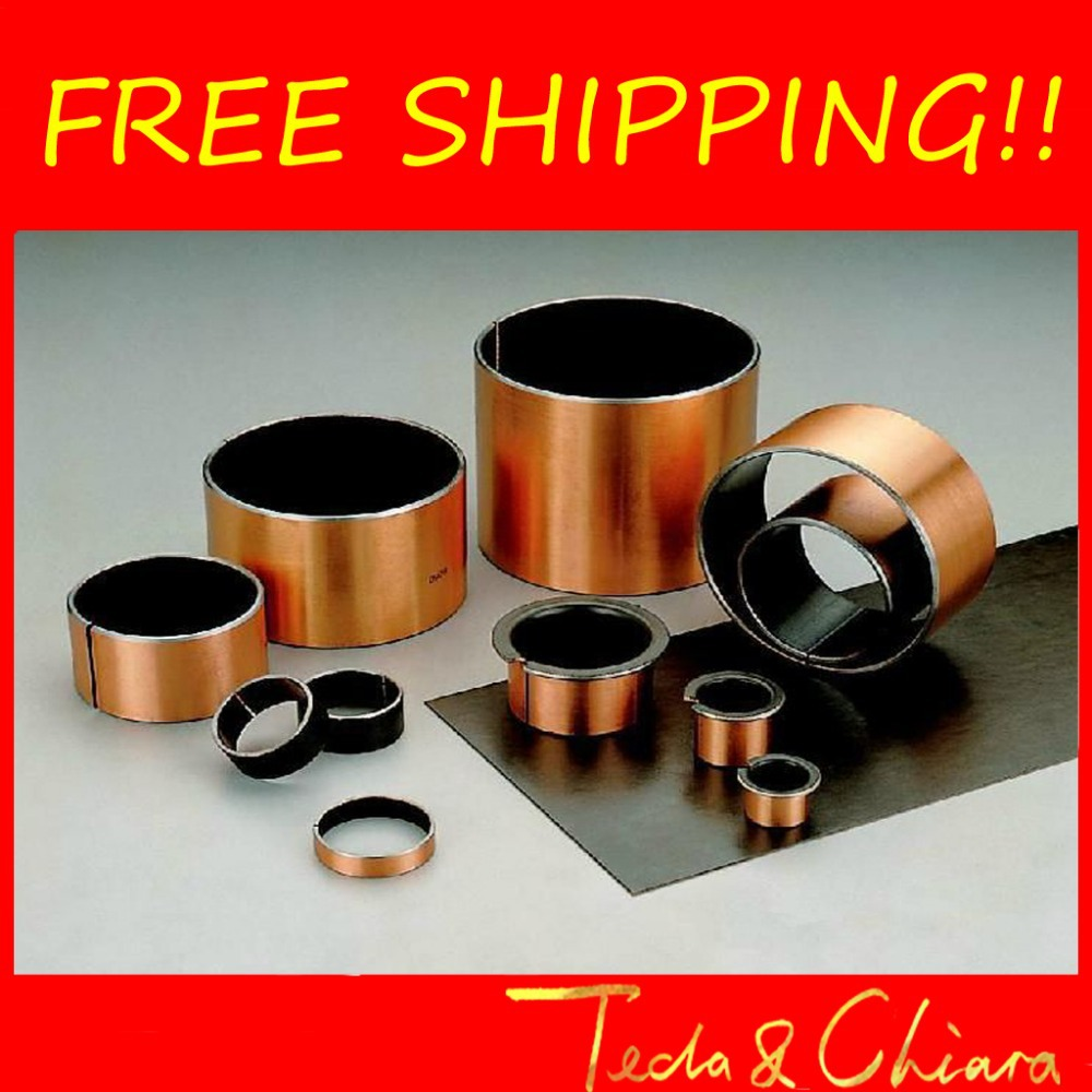 цена на SF-1 0805 0806 0808 0810 0812 0815 Self Lubricating Composite Bearing Bushing Sleeve SF1 8mm x 10mm x 5mm 6mm 8mm 10mm 12mm 15mm