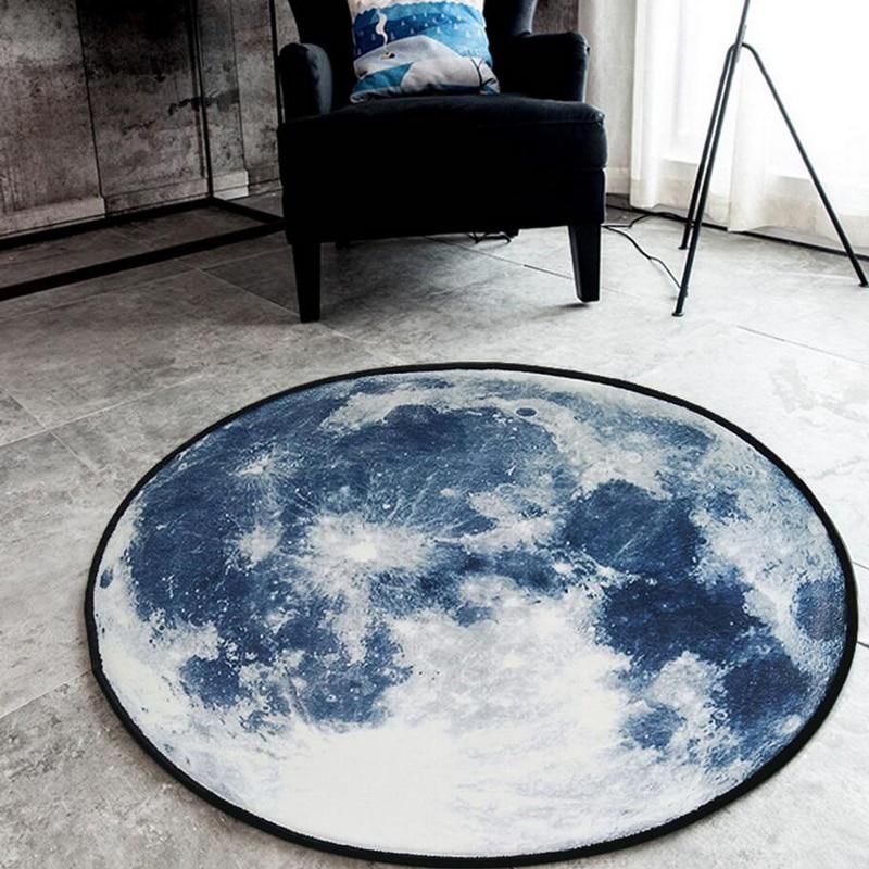Yataq otağı üçün kompüter kreslosu üçün 3D Earth dəyirmi - Ev tekstil - Fotoqrafiya 4