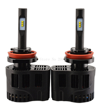 2PCS NEW High quality P6 H11 25W car repl Headlight LED Bulb 3000 4000 5000 6000K