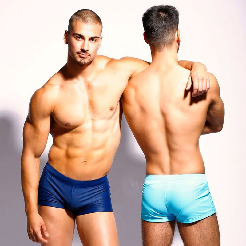 Taddlee Brand Sexy Mens Swimwear Swim Trunks Board Surfing Shorts Low Waist Brazilian Cut Swimsuits Swimming Boxers Gay Pouch WJ