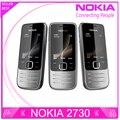Восстановленное Nokia 2730 classic Разблокирована Мобильного Телефона 2730c Дешевые 3 Г Телефон Quad-Band 2-МЕГАПИКСЕЛЬНАЯ Камера 1 Год Гарантии бесплатная доставка