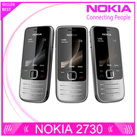 Original Nokia 2730 Classic Unlocked Mobile Phone 2730c 3G Quad Band 2MP Camera 1Year Warranty Free