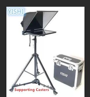 Tragbares Audio & Video 100% Wahr Yishi Neue 20 Inch Klapp Tragbare Teleprompter Für Micro-klasse Sitzung Moderator Inschrift Teleprompter Unterstützung Gürtel Rollen Professionelle Audio-aufnahme