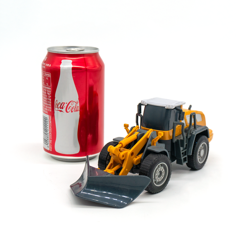 Diecast Kendaraan Teknik Traktor Truk Mainan Mobil Model 1:55 Bulldozer Salju Lebih Jelas Forklift Roller Jalan Mobil Set Hadiah Anak Laki-laki Anak-anak