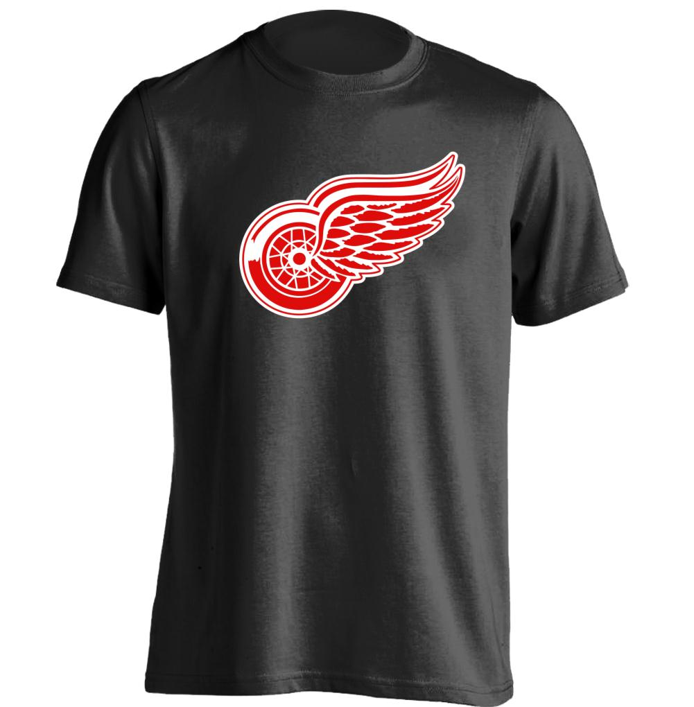 Detroit red wings mens womens printing t shirt baseball Designer baseball shirts