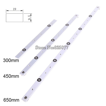 1PCS Woodworking Tools High Quality Aluminium Miter Slider Bar Length 300mm/450mm/650mm KF762