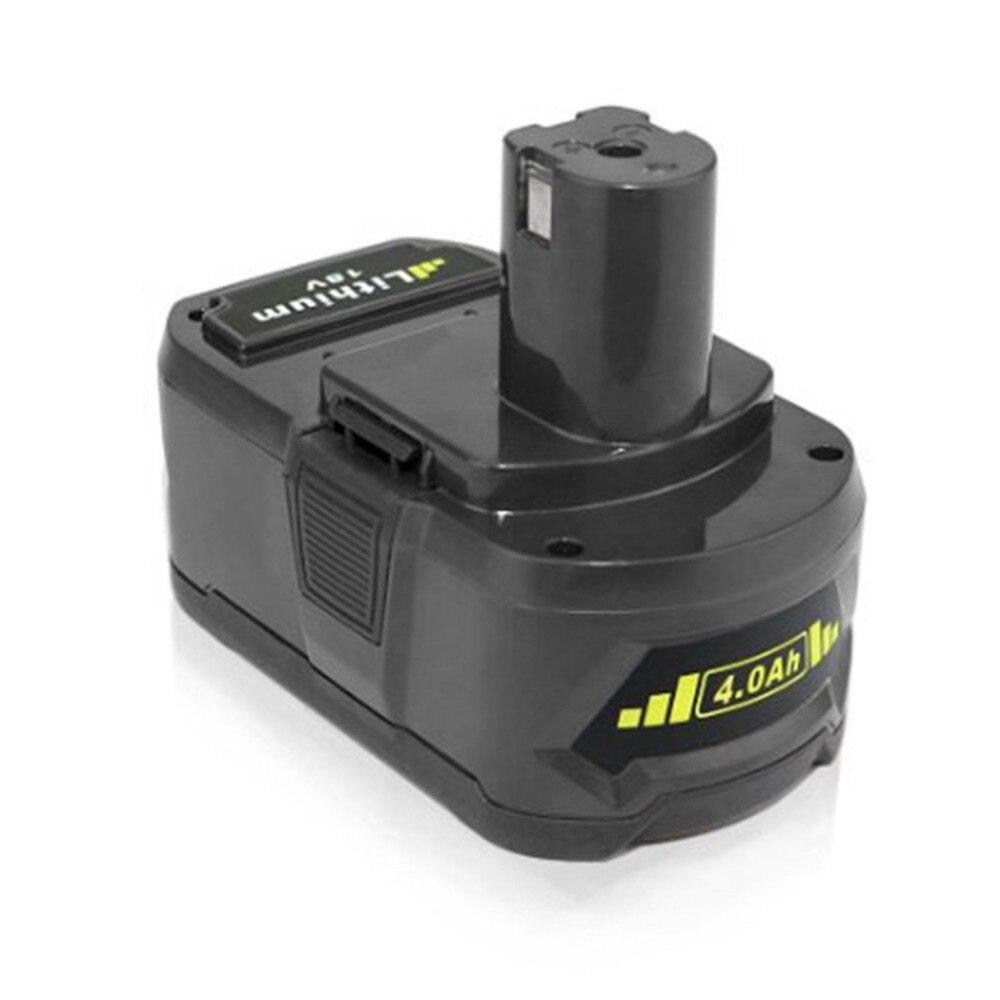Batterie Rechargeable légère de remplacement de batterie de Li-ion de 18 V 4.0Ah 4000 mAh P103 P108 pour l'outil électrique de Ryobi