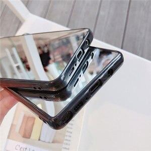 Image 3 - Sang Trọng Bling Gương Trang Điểm Ốp Lưng Điện Thoại Samsung S8 S9 S10 Plus S7 Edge A5 2017 J6 Plus A50 A70 NOTE 9 Chống Sốc TPU Cover