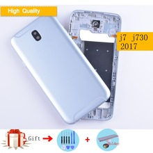 Battery Cover Housing For Samsung Galaxy J7 2017 J7 Pro J730 J730F Back  Cover Case Rear Door