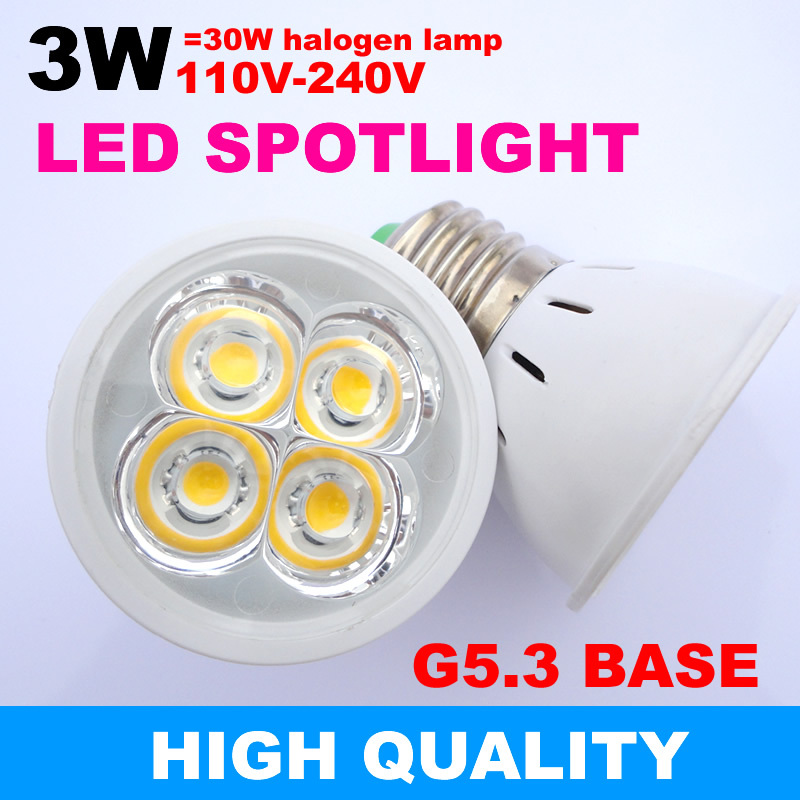 3w led spotlights g5 3 led lamp cup led bulbs downlight light source 110 220v 230v warm white. Black Bedroom Furniture Sets. Home Design Ideas