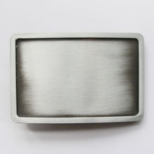 Low price Blank Belt Buckle big discount Antique Silver wholesale Rectangle cheap belt buckle blanks