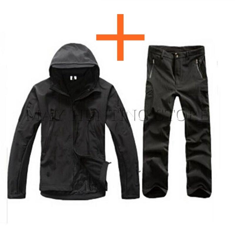 TAD V 4.0 Men Outdoor Hunting Camping Waterproof Windproof Polyester Coats Jacket Hoody  ...