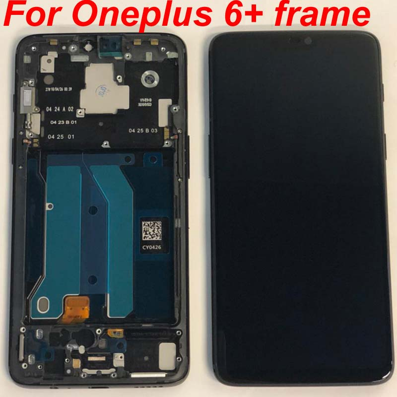 100% Original Warranty LCD Display Touch Screen Digitizer Assembly For Oneplus 6 1+ 6 A6000 Best quality with tracking no.+Frame-in Mobile Phone LCD Screens from Cellphones & Telecommunications