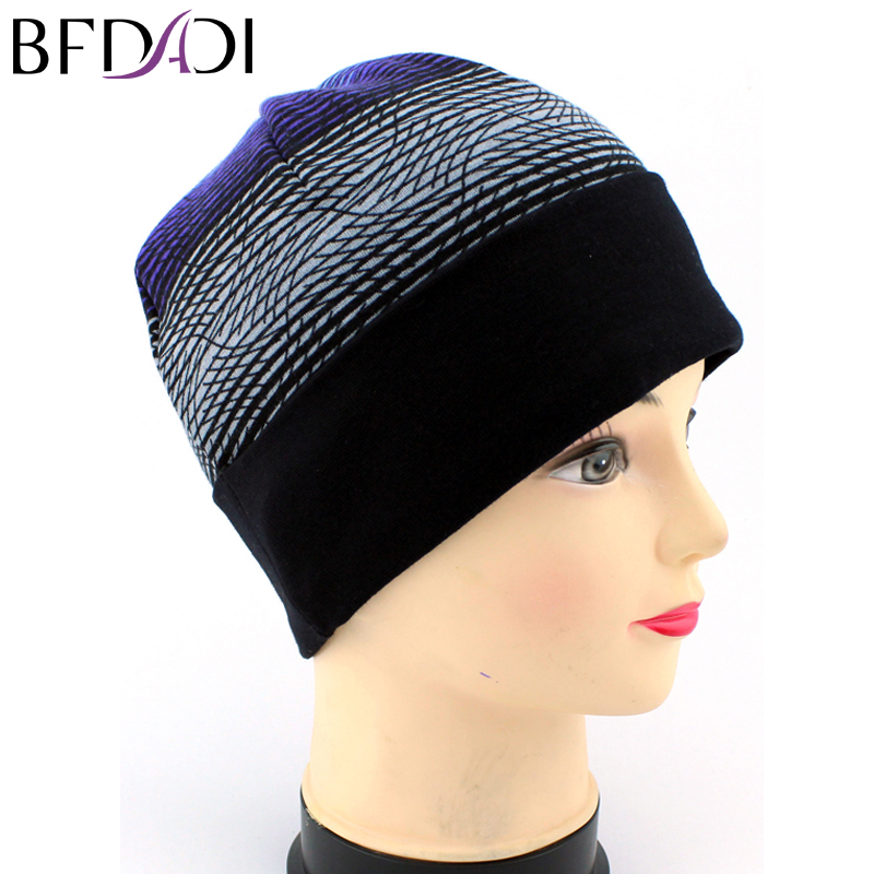 New arrival 2017 men and women line cap hat knitted cap set of head caps Seven kinds of styles free shipping skullies 2017 fashion new arrival indian yoga turban hat ear cap sleeve head cap hat men and women multicolor fold 1866688