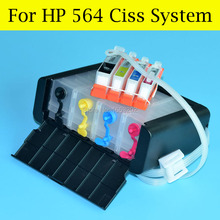 NEW CISS For HP 564 Continuous Ink Supply System For HP B209A B210A B109N 5511 5515 5522 3522 3526 3070A Printer
