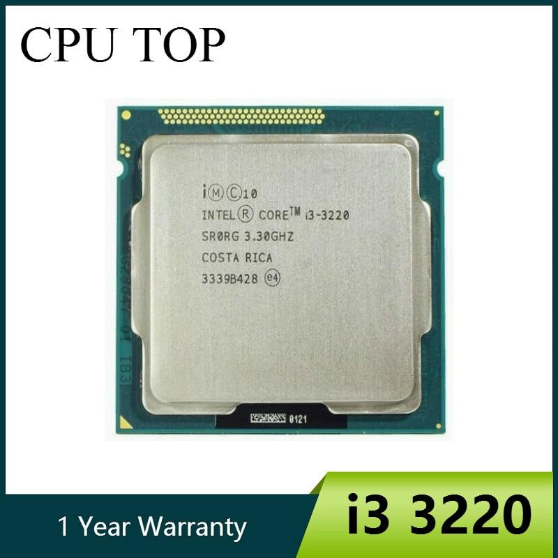 Original Core i3 3220 Processor Dual Core 3 3GHz LGA 1155 TDP 55W 3MB Cache With