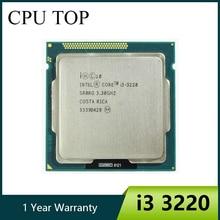Original Core i3 3220 Processor Dual Core 3.3GHz LGA 1155 TDP 55W 3MB Cache With HD Graphics Desktop CPU
