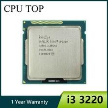 オリジナルコア i3 3220 プロセッサのデュアルコア 3.3 lga 1155 tdp 55 ワット 3 メガバイトの hd グラフィックスデスクトップ cpu