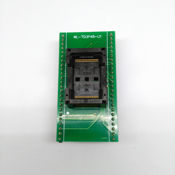 TSOP48-0.5 Open Top SA247 TNM5000 Programming IC Test Socket Flash Programmer Adapter TSOP48 12*20mm socket double board free shipping sop32 wide body test seat ots 32 1 27 16 soic32 burn block programming block adapter