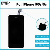 TSVASON New Arrival Display Screen For IPhone 5C Wholesale MOQ 10pcs AAA Mobile Phone Parts For