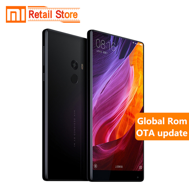 "Оригинал Сяо Mi Mix Pro 6 ГБ ОЗУ 256 ГБ ROM Snapdragon 821 Quad Core 4 г 16.0MP 6.4 ""полный экран 2040x1080 P FHD 4300 мАч 18 К золото"