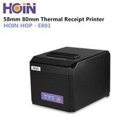 HOIN HOP E801 USB/Bluetooth/WiFi Impressora de Recibos Térmica Máquina Completa|Impressoras| |  -
