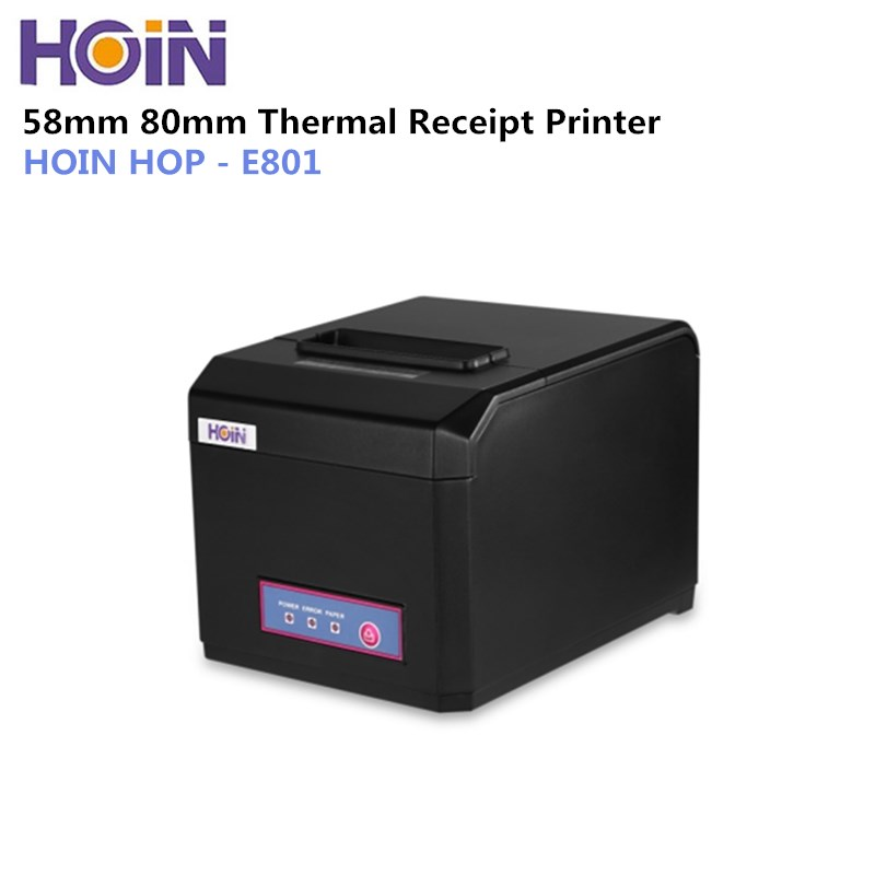 HOIN HOP-E801 USB / Bluetooth / WiFi Thermal Receipt Printer Complete Machine