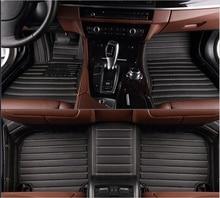Top qualität! kundenspezifische sonder fußmatten für BMW X3 E83 2010-2004 wasserdicht Leicht zu reinigen teppiche teppiche für X3 2008, freies verschiffen