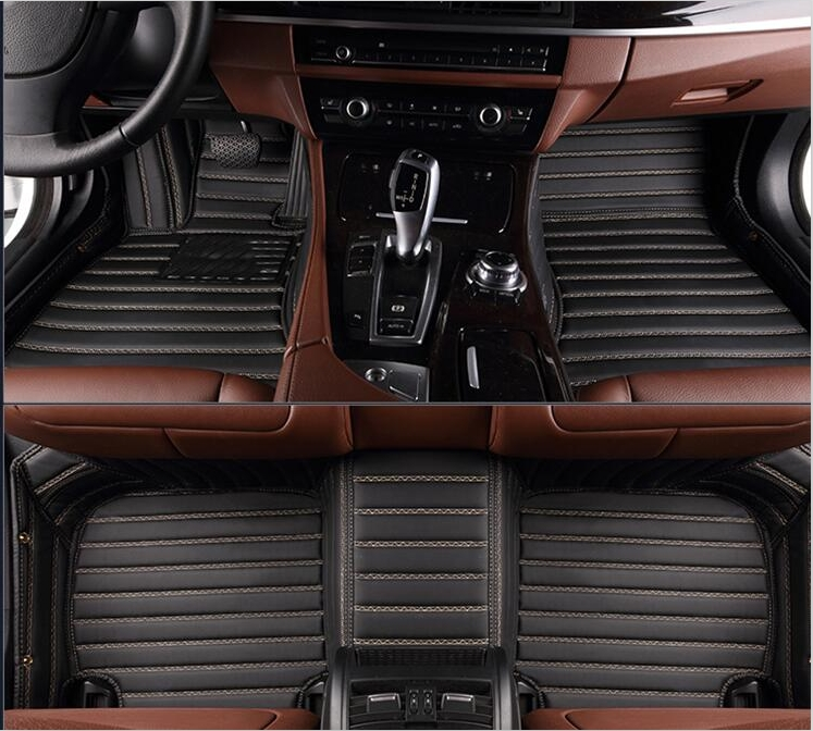 Top quality! Custom special floor mats for BMW X3 E83 2010-2004 waterproof Easy to clean rugs carpets for X3 2008,Free shipping