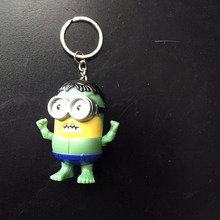 The Hulk Minions Alliance Keyrings with Sound
