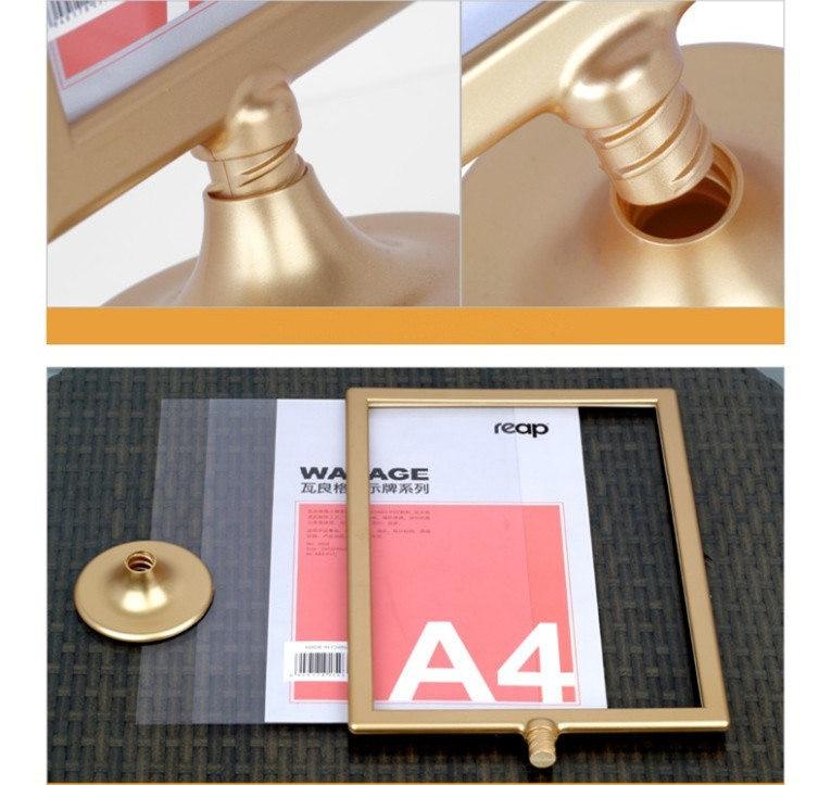 Acryl Display Bilderrahmen 10*12 zoll Doppelseitige Bilderrahmen A4 ...