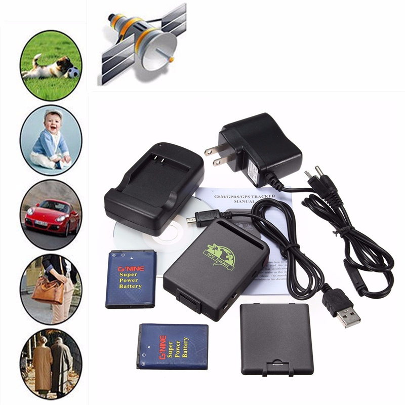 GPS Locator Vehicle GSM TK102B Car Mini Realtime Online GSM GPRS Tracking Device Locator GPS Tracker TK 102 for Kids Cars Pet