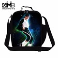 Best Insulated Cooler Bags for Children Michael Jackson Work Lunch Container for Adults Fashion Meal Bags Shoulder Lunch Box Bag