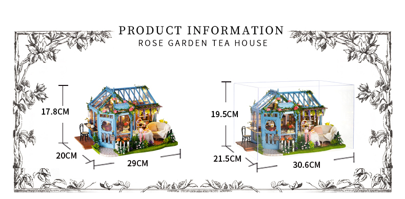 Rose Garden Tea House English Instruction