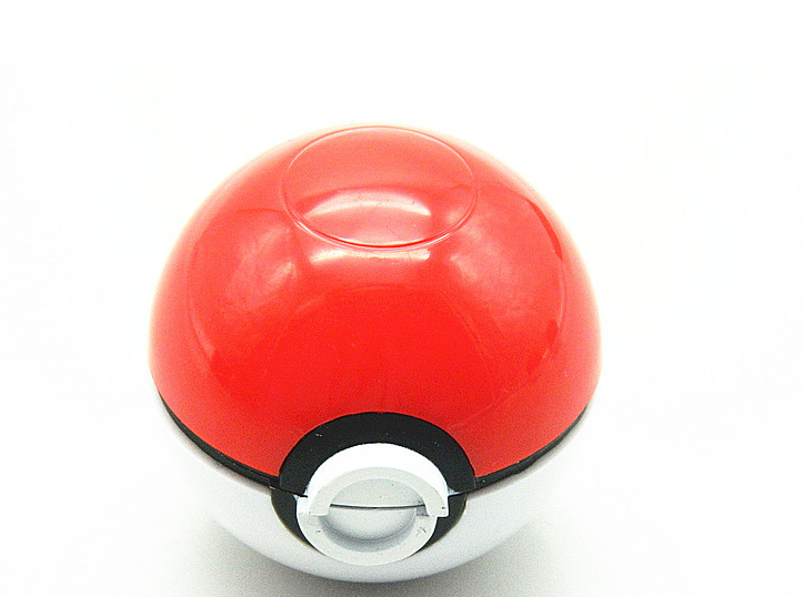 Fashion 3 Layers Pokeball Smoking Crusher Poke  Ball Metal Zinc Alloy Spice Herbal Hookah Accessory Tobacco Grinder