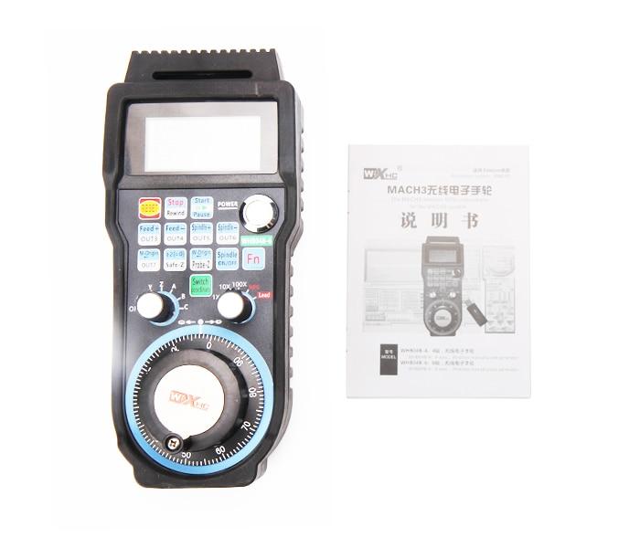 все цены на Wireless USB MACH3 MPG WHB04B-6 433MHZ Electronic Handwheel 6Axis CNC Mach3 hand wheel for CNC Router Machine онлайн
