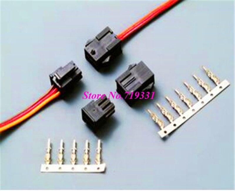 1000 шт. 3,0 мм разъем и мужской разъем с кабелем 2 24Pin