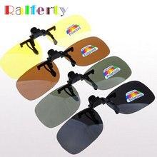 Ralferty Quality Polarized Clip On Sunglasses Men Sport Driving Night Vision Clip Anti UVA Sun Glasses Women Oculos Gafas De Sol
