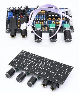 Image 1 - DC 12 В 24 В PT2399 Плата усилителя цифрового микрофона реверберация караоке OK ревербератор усилитель NE5532 предусилитель тональная плата