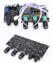 Dc 12v 24v pt2399 placa de amplificador de microfone digital reverberation karaoke ok reverb amplificador ne5532 pré-amplificador placa de tom