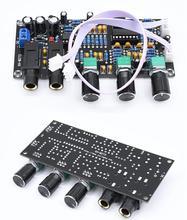 DC 12V 24V PT2399 mikrofon cyfrowy płyta wzmacniacza pogłos Karaoke OK wzmacniacz pogłosu NE5532 przedwzmacniacz tablica dźwiękowa