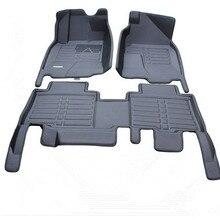 Высокое качество! Специальные автомобильные коврики для Toyota Land Cruiser Prado 150, 5 мест,-2010, водонепроницаемые ковры для Prado
