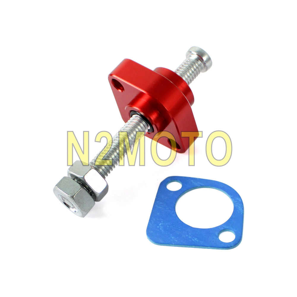 Motorcycle Red Manual Cam Chain Tensioners Cnc Aluminum For Honda Cbr600rr Cbr1000rr Vfr800 2002 2016 Black Red Blue